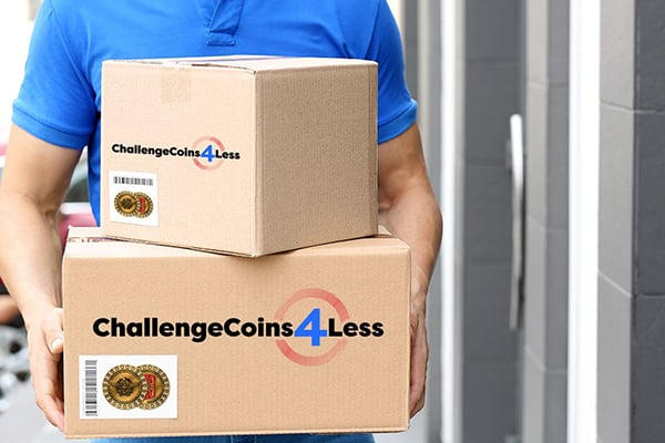 challenge coins delivered to you