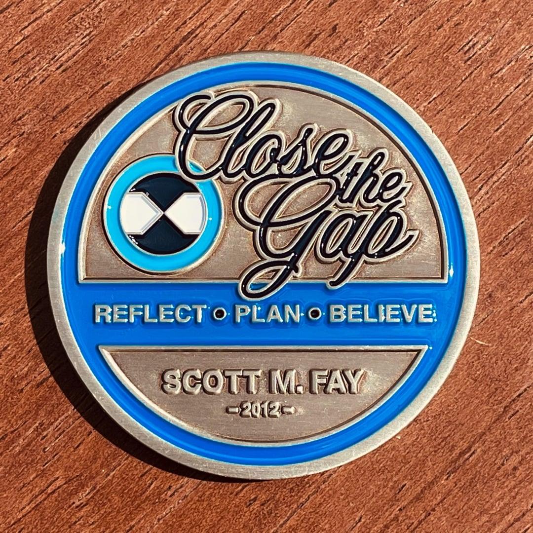Close The Gap Antique Silver