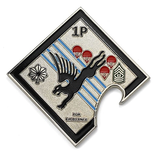 Flying Griffin Military Parachutes Square Bottle Opener Custom Shapes