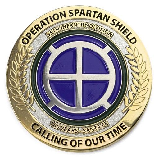 Operation Spartan Shield Duotone