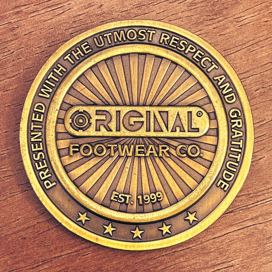Original Footwear Co Antique Gold