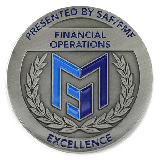 Saf Fmf Financial Operations Antique Silver