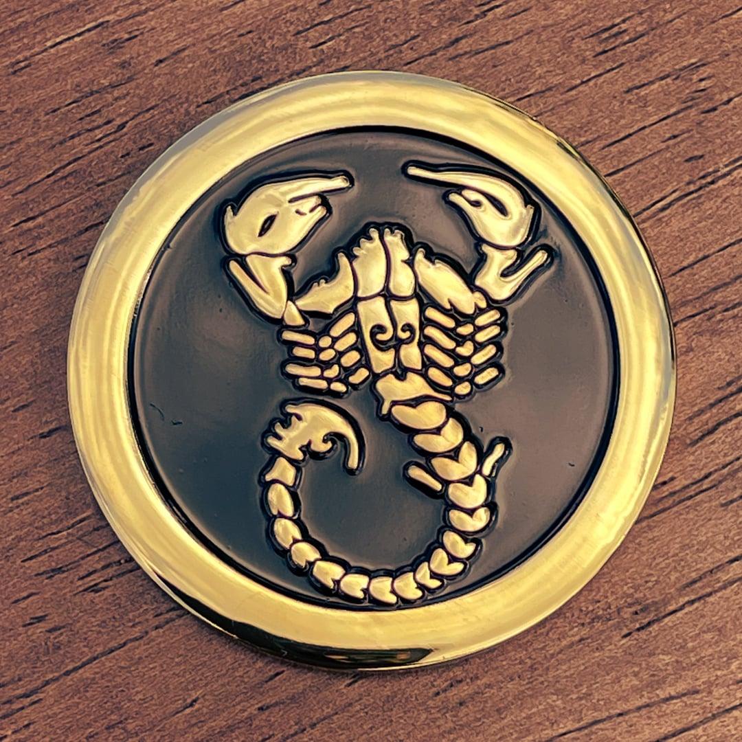 Scorpion Polished Gold