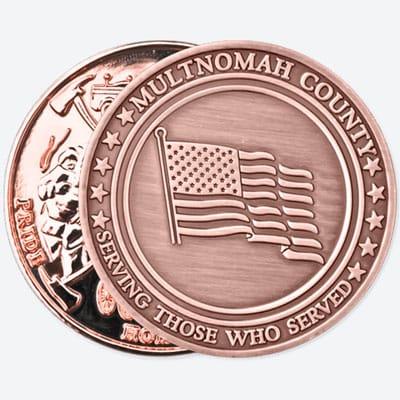 Copper and Antique Copper coins