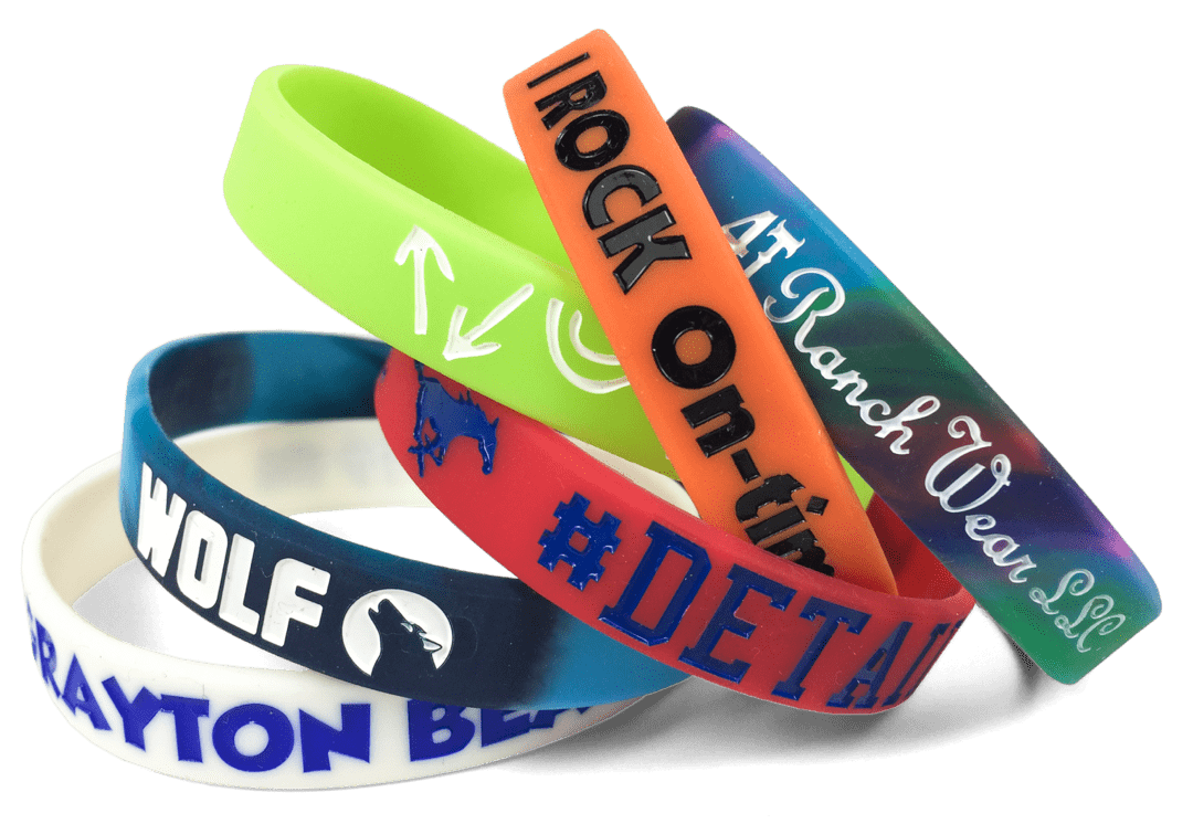 examples of custom wristbands