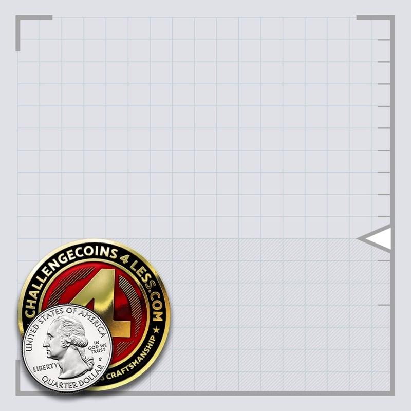 1.75 inch challenge coin