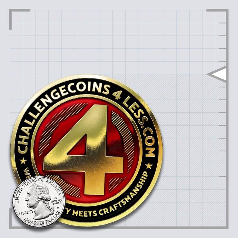 3.00 inch medal