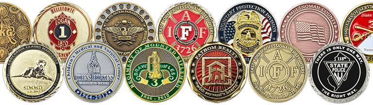 custom challenge coin collection