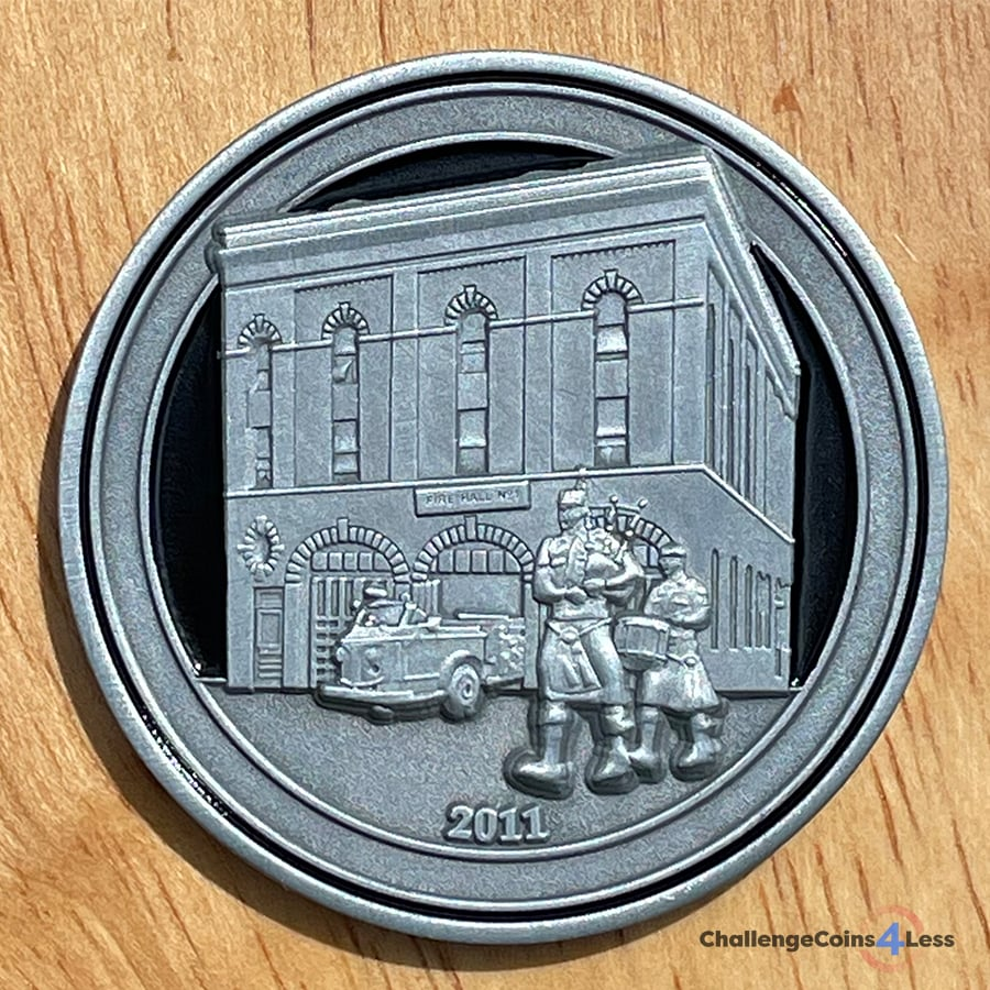 fire house challenge coin