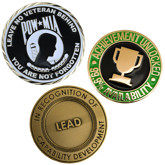 image of honor challenge coins