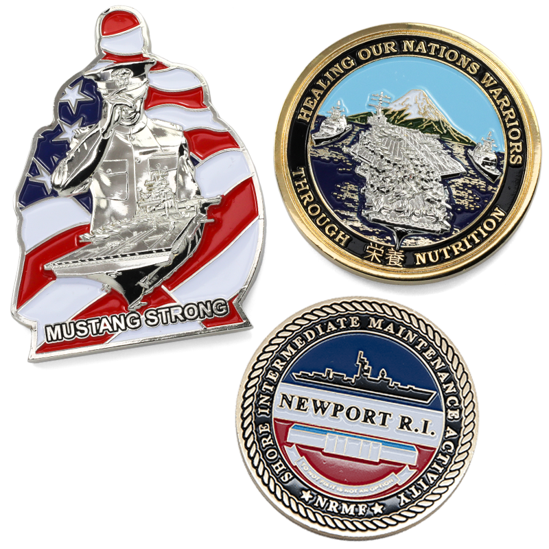 image of navy challenge coins