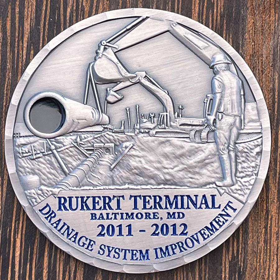 Rukert Terminal. Drainage System Improvement coin